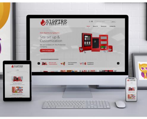 519 Fire Client Website