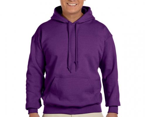 Gildan G185 Hoodie Purple