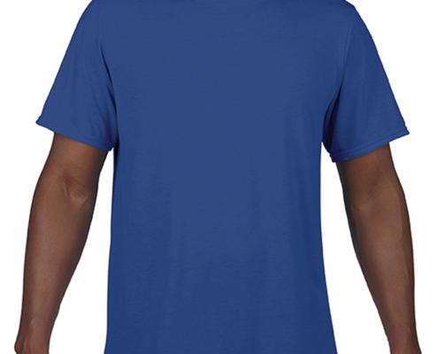 Gildan Adult G460 Performance T-Shirt Sport Royal Blue