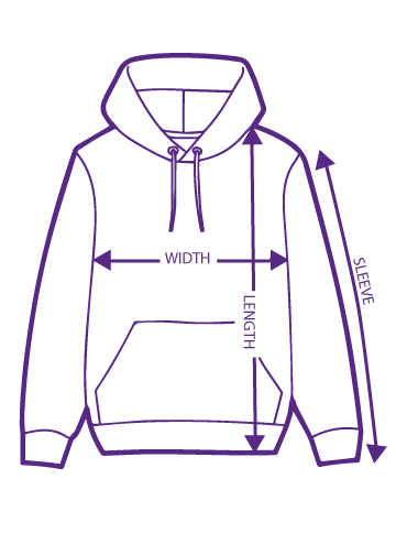 How to measure your hoodie