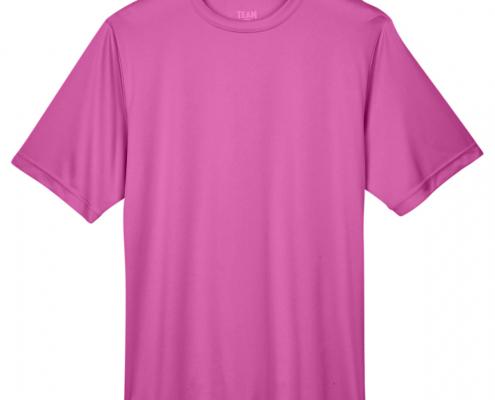Team 365 TT11 Moisture Wicking Sport Charity Pink